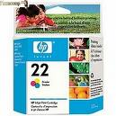 <strong>HEWLETT PACKARD</strong> Cartucho de tinta color original HP 22